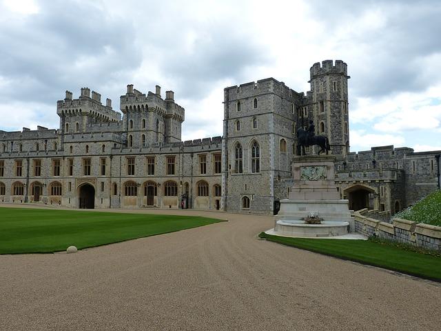 Windsor Castle - englischer Rasen